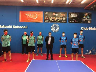 División de Honor Masculina – El Sant Josep.net-Sant Jordi cede ante el CN Sabadell