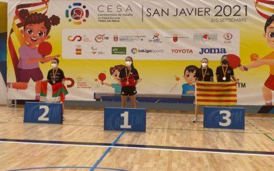 Eugenia Sastre Campeona del Escolar Cadete Femenino